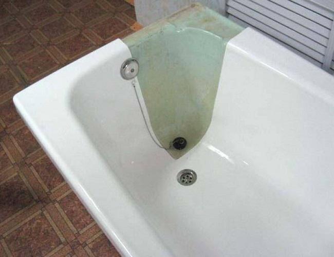 Как восстановить чугунную ванну методом эмалировки