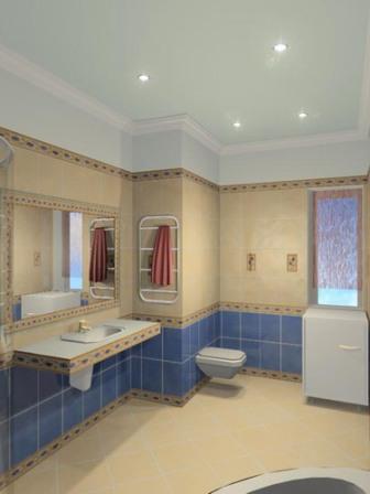 Компьютерный дизайн ванной