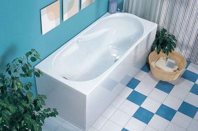 Прямоугольная ванна – практичное и универсальное решение
