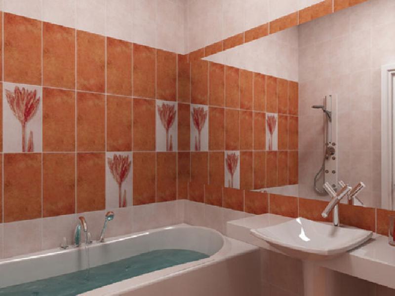 Пример оформления ванной