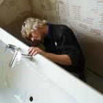демонтаж ванны своими руками