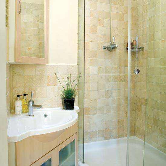дизайн ванной комнаты с душевой кабиной маленького размера