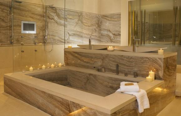Модерн в стиле ванной комнаты