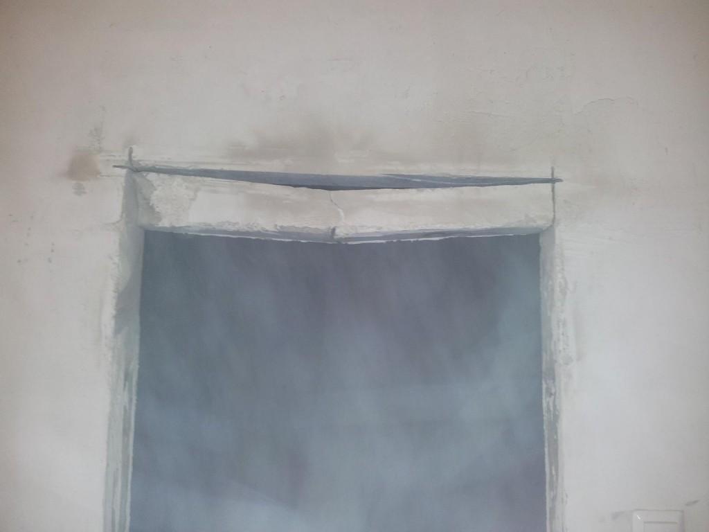Увеличение дверного проема под двери