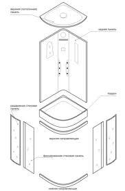 инструкция по монтажу душевой кабины