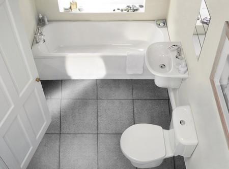 Ванная с навесной сантехникой