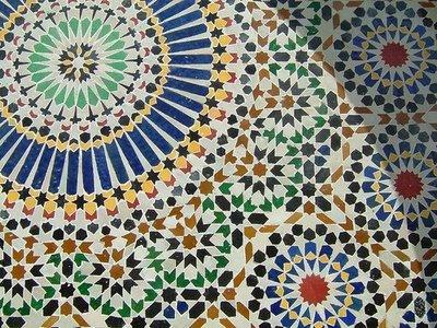 Мозаика из керамической плитки