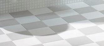 Укладка плитки шахматным узором