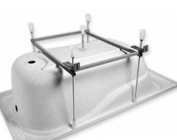 как правильно установить акриловую ванну