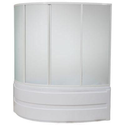Каркасная шторка для ванной