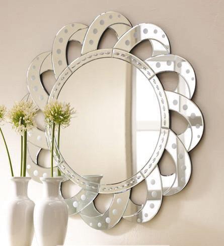 Лучшая форма зеркала - круглое зеркало
