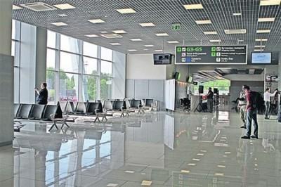 Напольная плитка для зала ожидания современного аэропорта