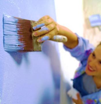 Окраска ванной