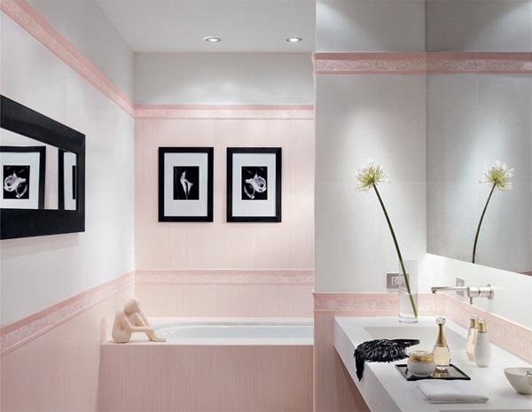 плитка для ванной 3д