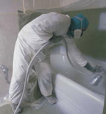 покрасить ванну своими руками