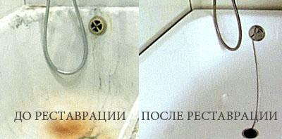 покраска ванны акрилом