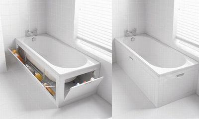 полка под ванну