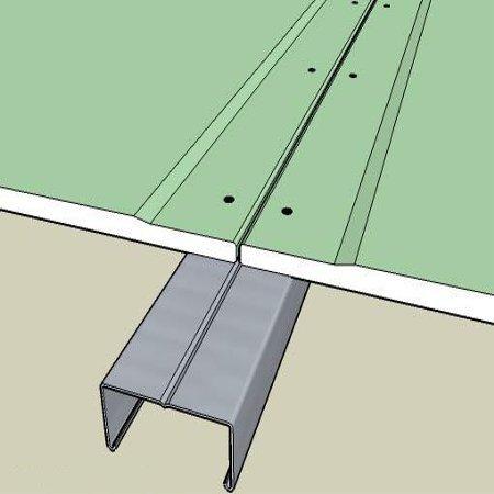 Правильное расположение стыков гипсокартонных листов