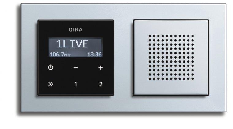 Радио в ванную комнату GIRA – 30 вариантов оформления