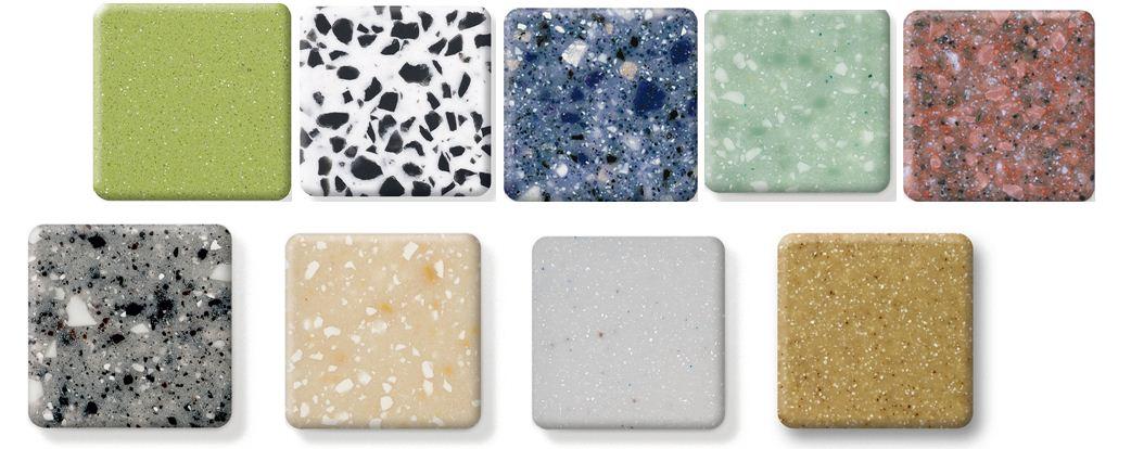 Раковина из искусственного камня может быть выполнена в любой цветовой гамме