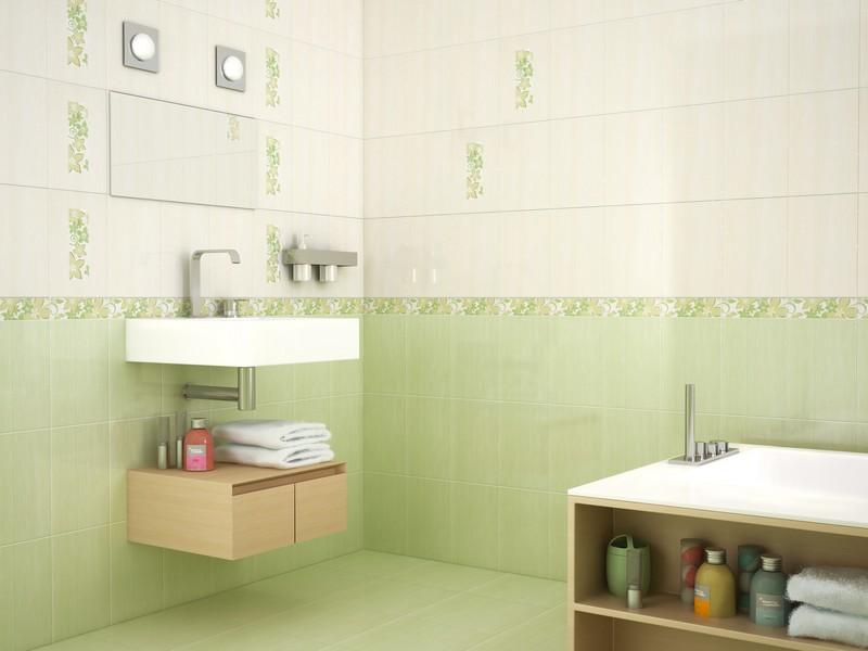 Расслабляющая цветовая палитра в отделке ванной комнаты