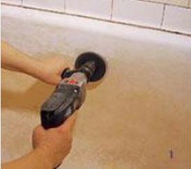 ремонт эмали ванны
