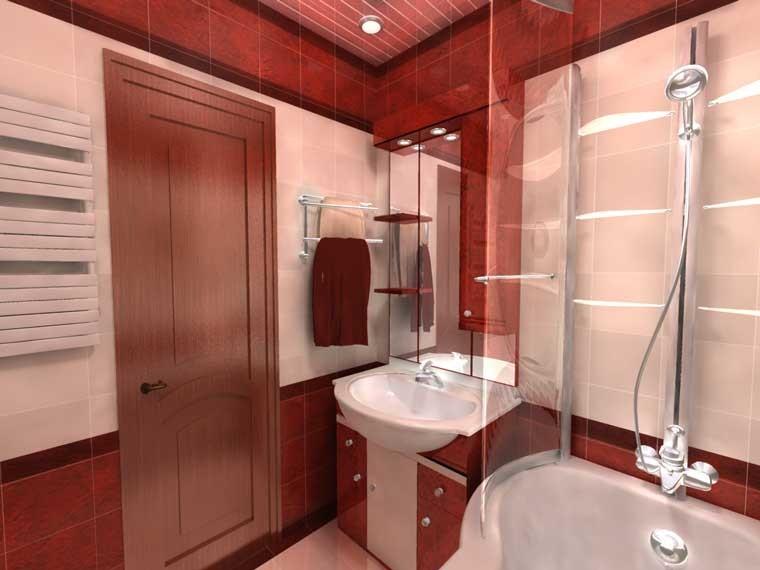 ремонт ванной комнаты в панельном доме