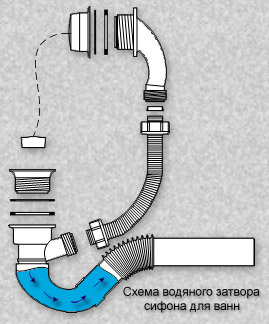 cхема действия затвора
