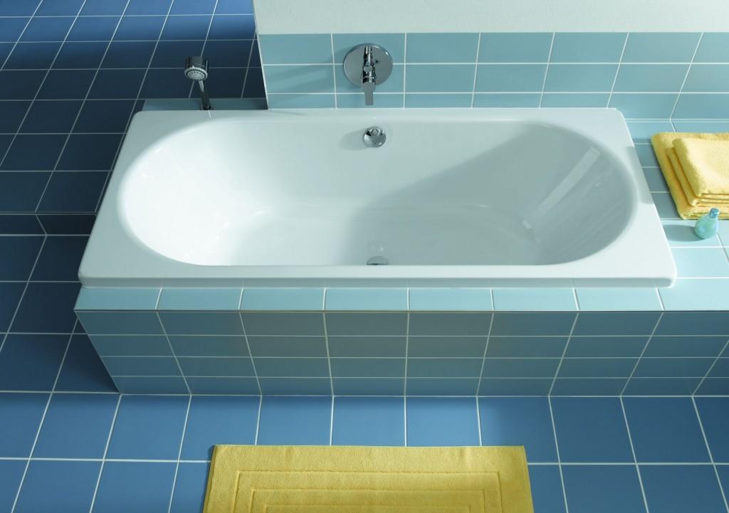 Стальная ванна – проста и неприхотлива