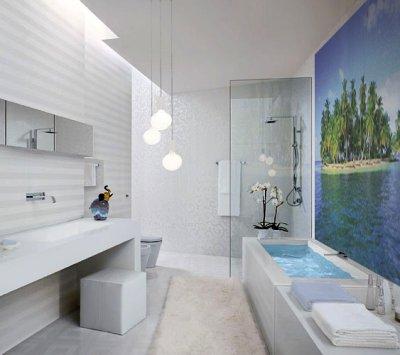 Пример освещения ванной
