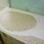 тумбочка под раковину в ванную