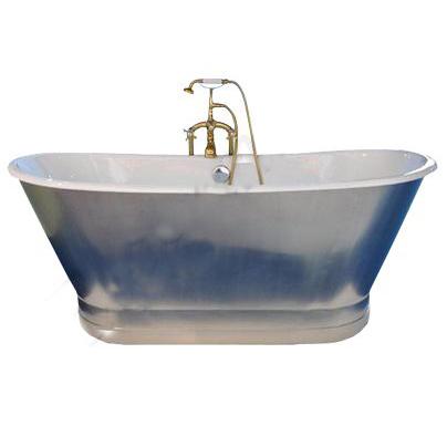Отдельно стоящая ванна в ретро стиле от Elegansa - Сабин Мэт (Sabine Matt) имеет гладкие овальные формы и идеальное покрытие эмали.