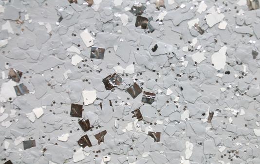Пример флокового покрытия
