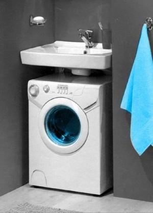 Вариант установки стиральной машины