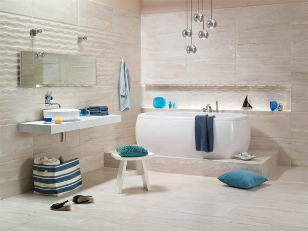 ванная в стиле морском
