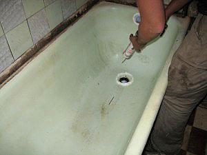 вкладыш акриловый в ванную