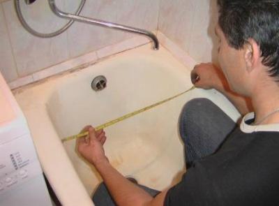 вкладыш в ванну акриловый установить