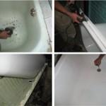 восстановление эмалевого покрытия ванны