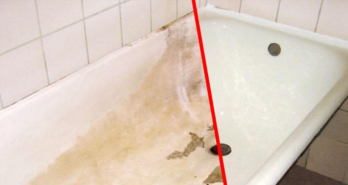 восстановление ванн чугунных