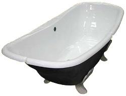 Чугунная ванна со слегка «волнистой» внутренней поверхностью
