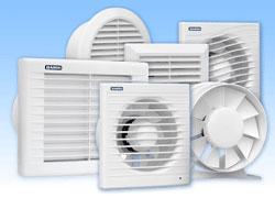 Разновидности моделей вентиляторов