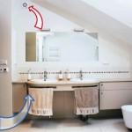 Вентиляция в ванной комнате и туалете: установка вытяжных вентиляционных решеток