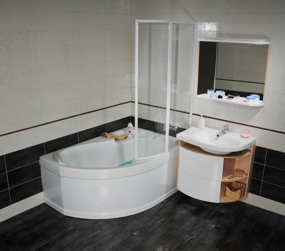 Все большую популярность приобретают акриловые ванны