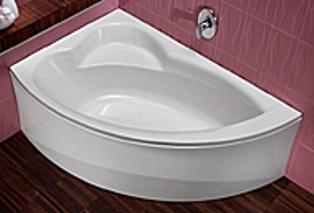 Угловая ванная акриловая