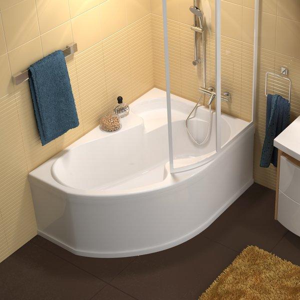 Ассиметричная угловая ванна