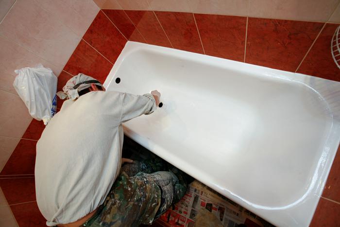 эмалировка ванны в домашних условиях