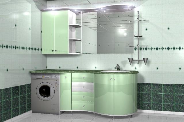 Функциональность мебели для ванной – ее главное достоинство