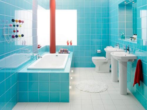 Ванная комната бело бирюзовая вешала ванную комнату фото