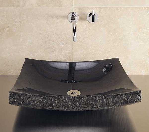 Изысканная гранитная мойка – изюминка ванной