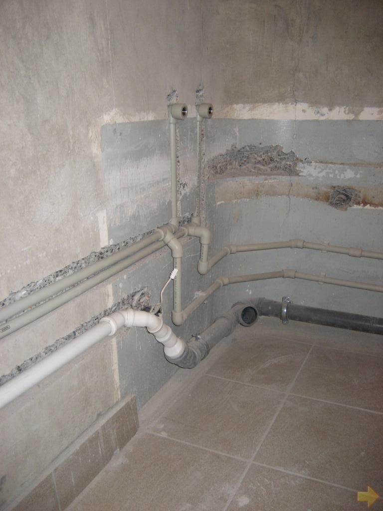 как делать ремонт в ванной